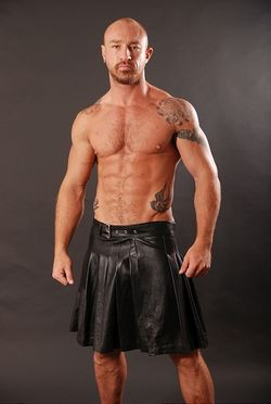 Leather-kilts